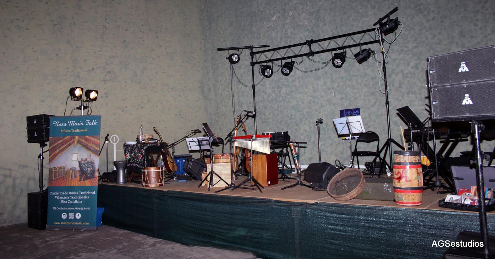 Concierto de Müsica Tradicional en Campillo de Azaba  (Salamanca)