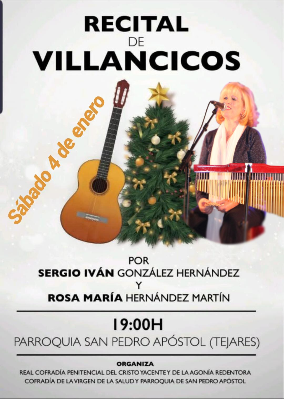 Concierto de Villancicos en la Iglesia Parroquial de San Pedro Apóstol de Tejares (Salamanca)